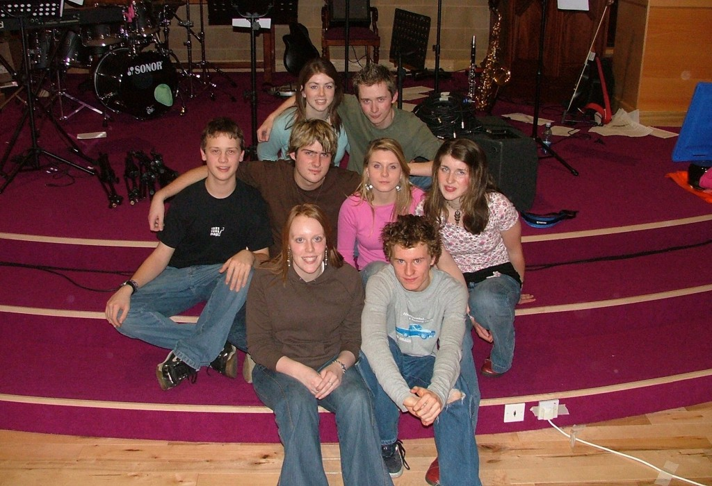 The Autumn Soul Band in January 2005, a few months after our first Autumn Soul in 2004.